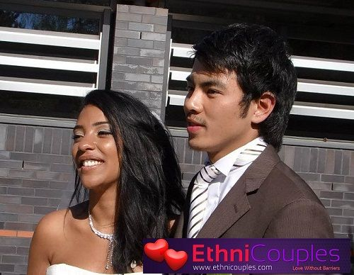 Marriage asian husband and black wife