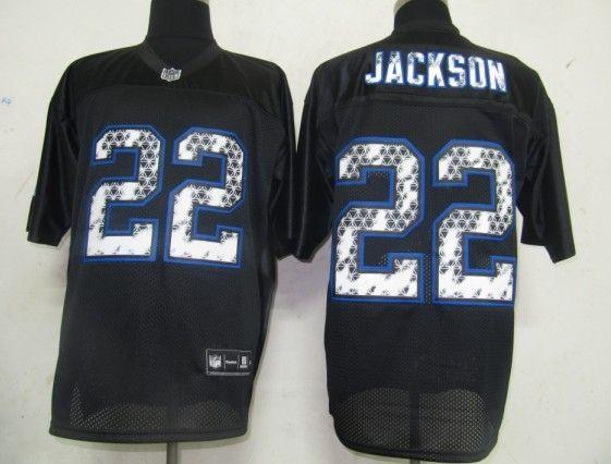 747efca75  25.00 NFL Jersey Buffalo Bills Fred Jackson  22 Black United Sideline