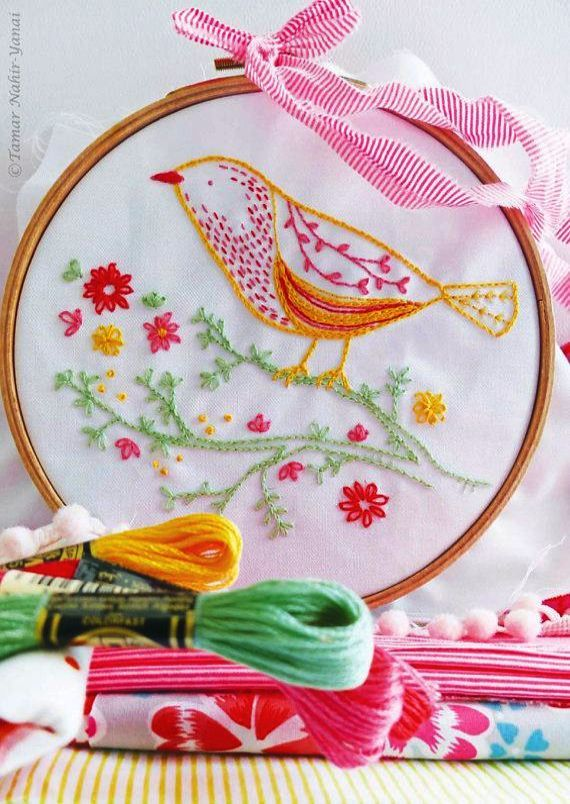 Hand Embroidery Cards Patterns Embroidery Stitches By Hand Tutorial