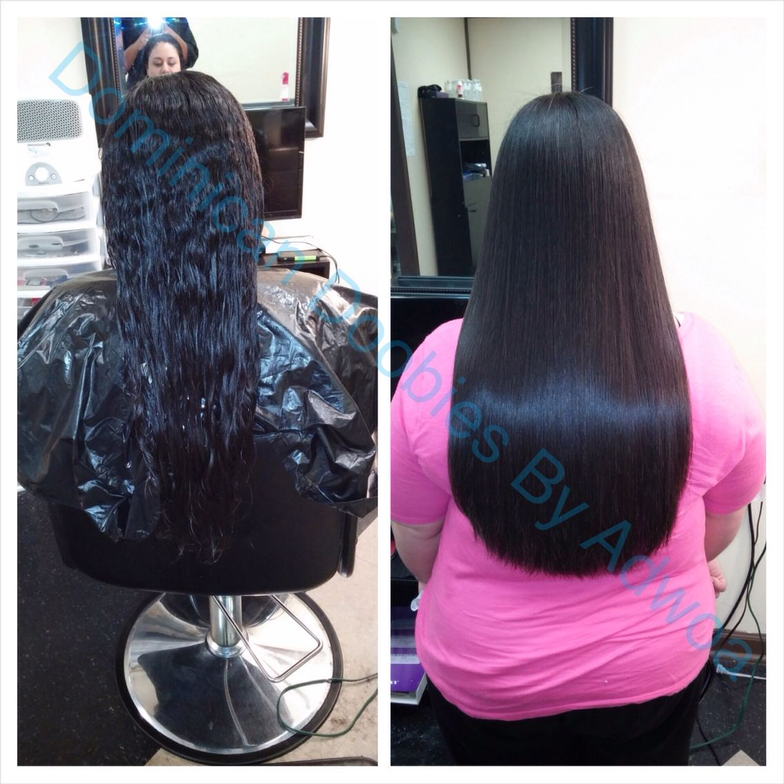 Dominican Blowout 100 Chemical Free Beautiful Natural Hair Hairstyles For School Long Hair Styles