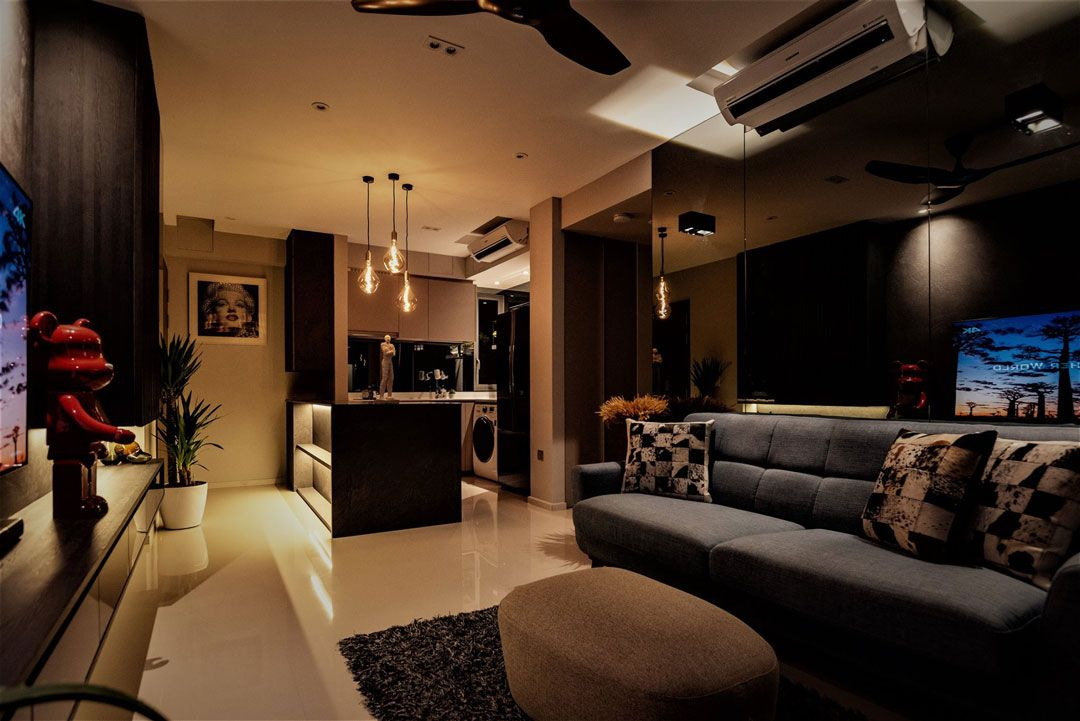 Home Tour This Dark And Cosy 2 Bedroom Condo Under 30k Is A