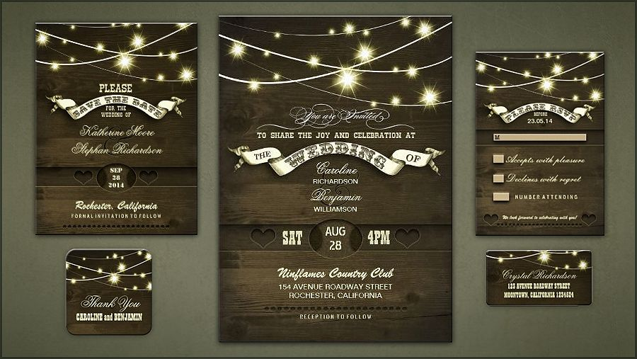 17 Best images about Wedding Invitations – Country Chic Wedding Invitations