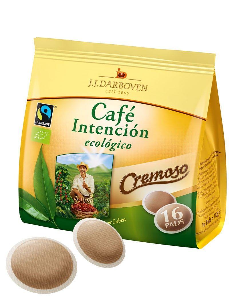 Café Intención BIO Kaffeepads ecológico Cremoso 16er (112 g) | online kaufen bei Gourvita