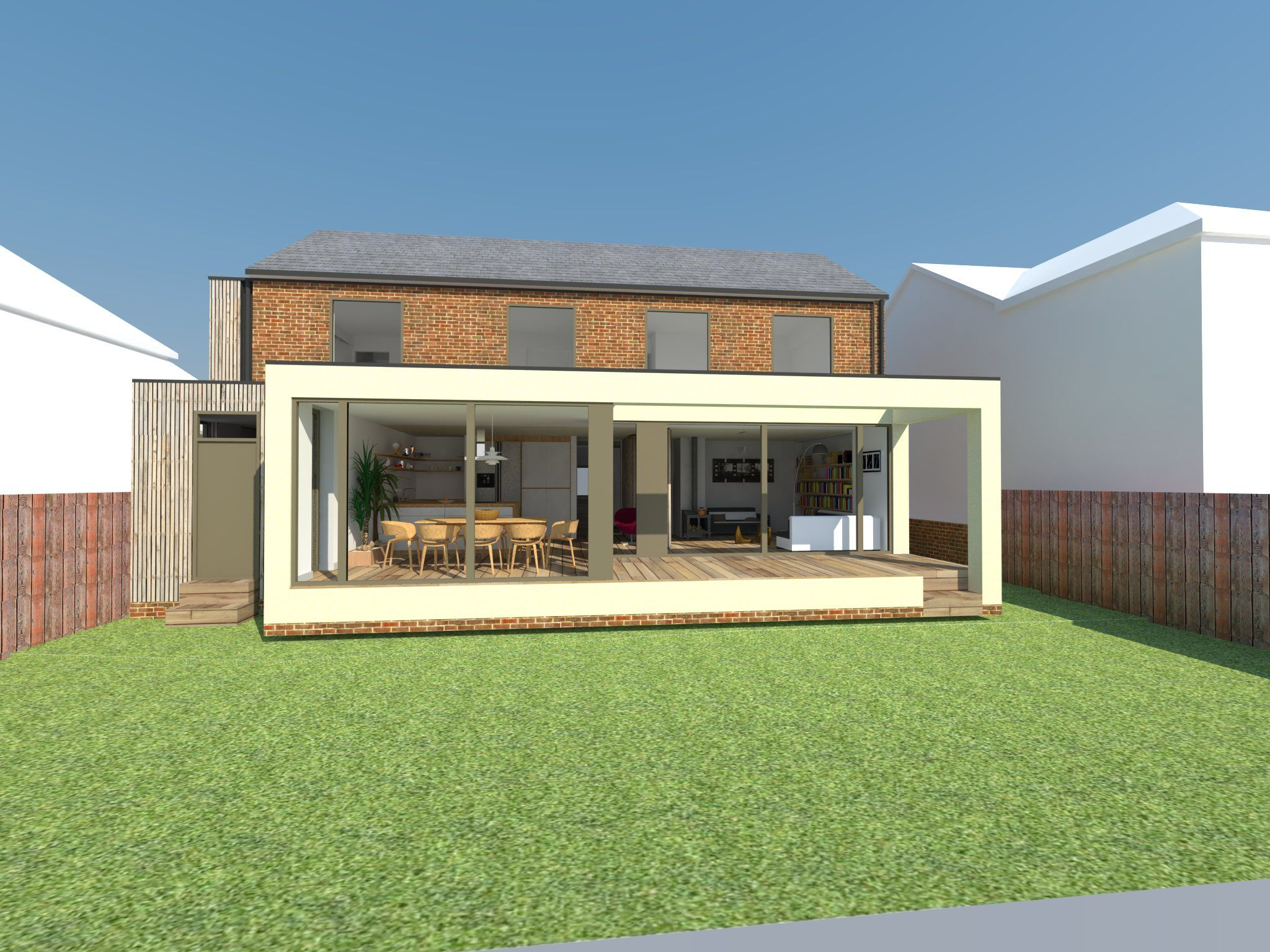 Contemporary Extension In Winchester
