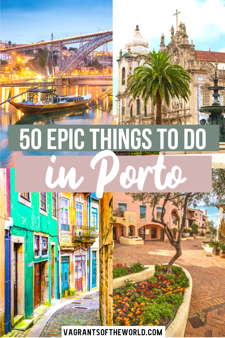 Planning to visit Porto? This is the ultimate Porto bucket list with 50 epic things to do in Porto. This is our list of the best things to do in Porto, where to eat, where to stay and how to get around. | What to do in Porto | Porto Bucket List | Best things to do in Porto | Ultimate Porto guide | Porto Travel | #porto #portugal