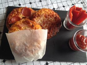 Louises Lækkerier: Lækre madpakke pizzaer