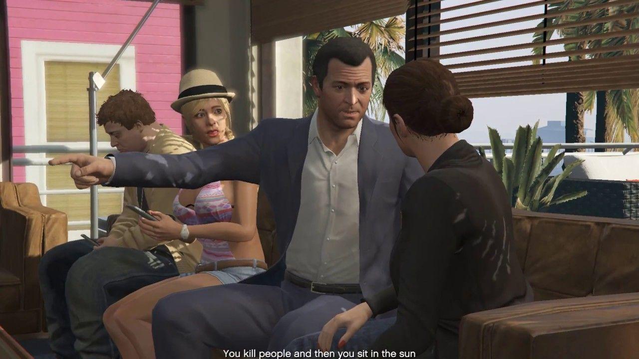 Michael Family Return complete mission 100% GTA 5 Kashi