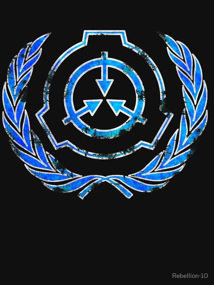 SCP foundation blue crest symbol Essential T-Shirt