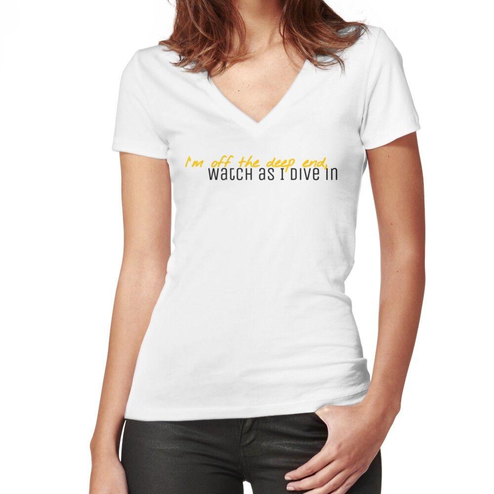 Photo of Ein Stern ist geboren – Flaches T-Shirt mit V-Ausschnitt für Frauen