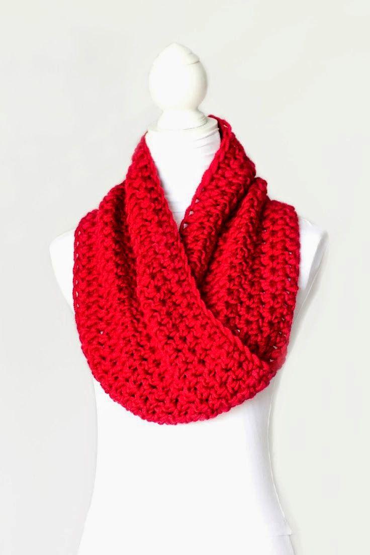 MES FAVORIS TRICOT-CROCHET: Modèle gratuit : Un snood au crochet ...