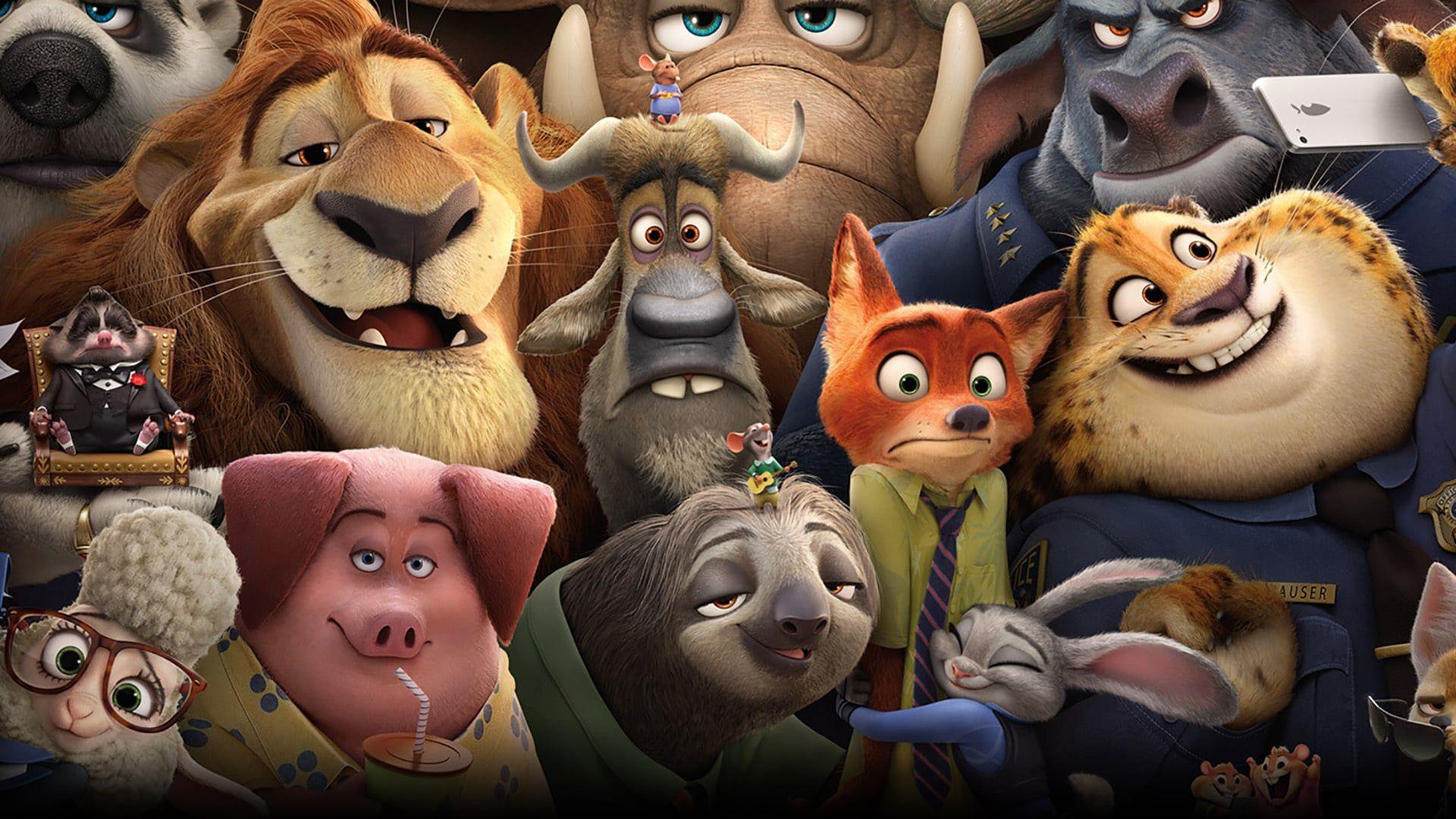 Il Mondo Animale E Cambiato Non E Piu Diviso In Due Fra Docili Prede E Feroci Predatori Ma Armon Zoomania Walt Disney Animation Walt Disney Animation Studios