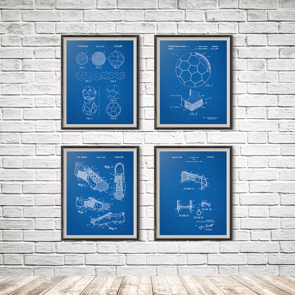 Soccer art print set of 4 prints soccer art soccer decor soccer soccer art print set of 4 prints soccer art soccer decor soccer wall art soccer wall decor soccer poster sports art print malvernweather Choice Image