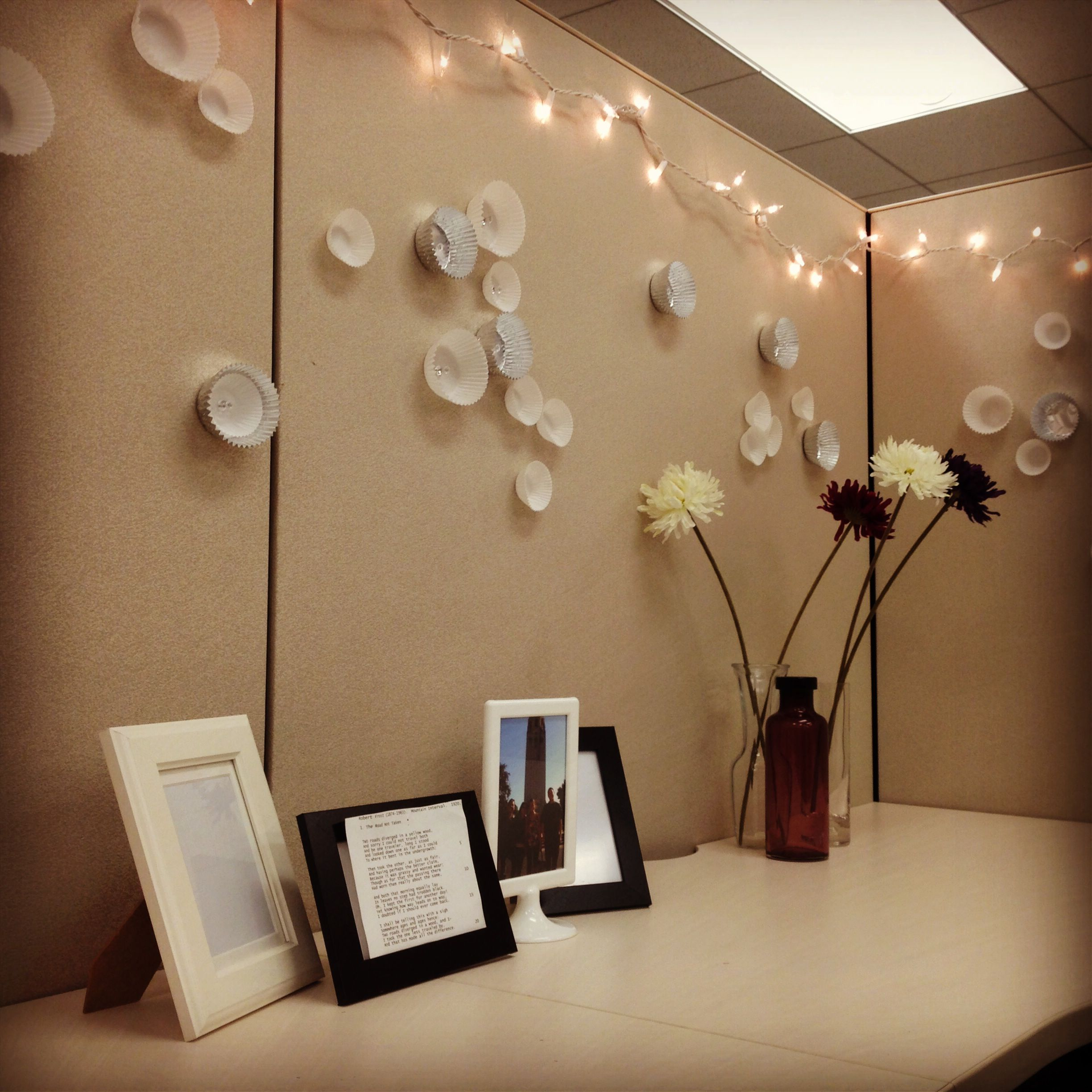 My Cute, Newly Decorated Cubicle! In 2019