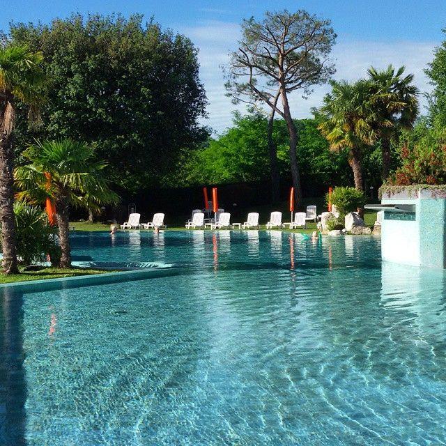 Terme e Relax in piscina a Montegrotto Terme @pizzo_76   Thermae Abano Montegrotto