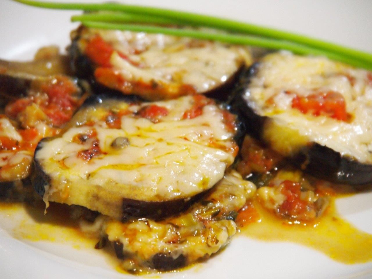 Todas Las Recetas Berenjenas Al Horno A La Napolitana Berenjena Al Horno Recetas Vegetarianas Comida