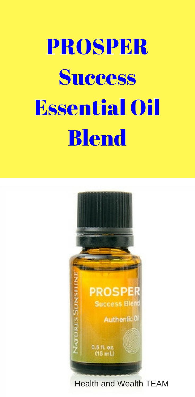 PROSPER Success Blend | Authentic Essential Oils | Relaxing