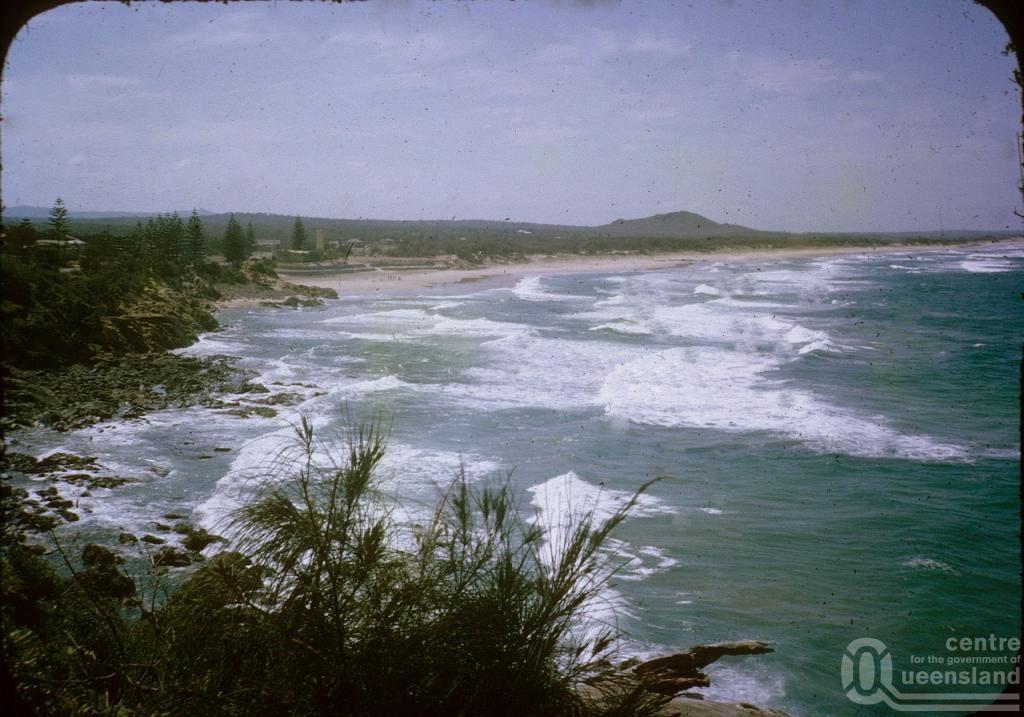 Coolum beach 1964