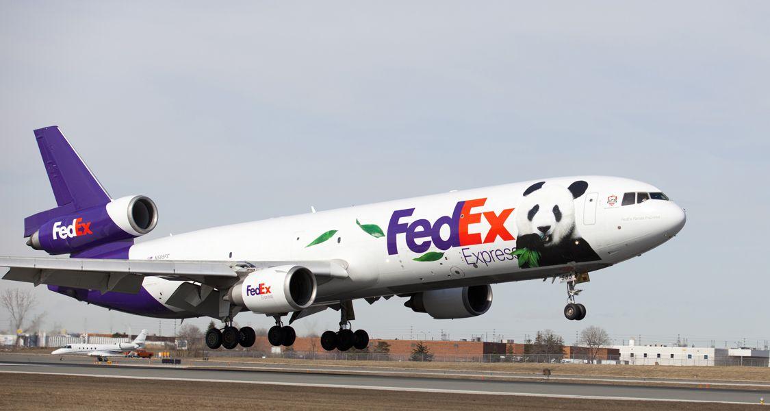 Fedex Panda Express Plane Lands In Toronto Panda Express Cargo