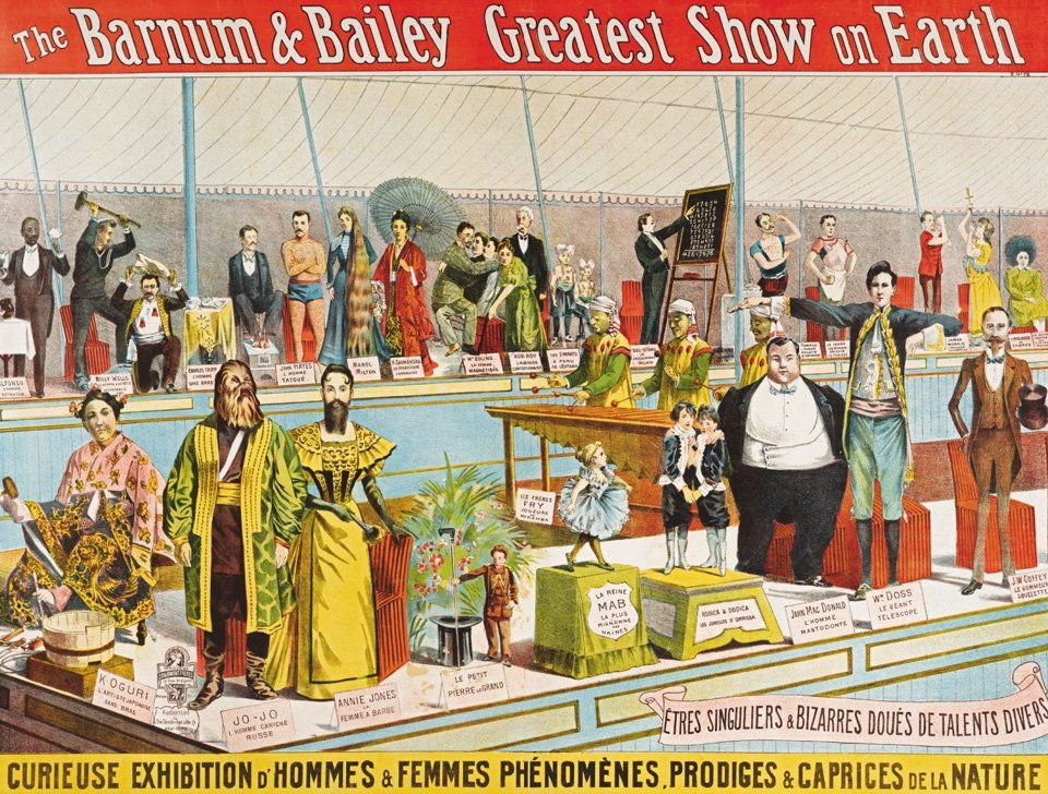 When Circus Was King: Rare Images from Its Golden Age, 1870-1950 | Brain Pickings