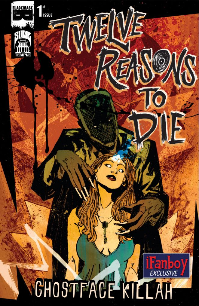 Preview Rza Ghostface Killah Present Twelve Reasons To Die 1 Ghostface Killah Ghostface Black Mask Comics