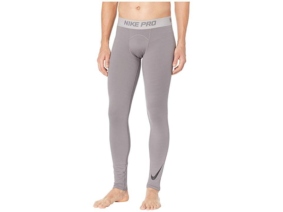d2ecb7a4b9172 Nike Pro Thermal Tights (Gunsmoke/Atmosphere Grey/Black) Men's Casual Pants.