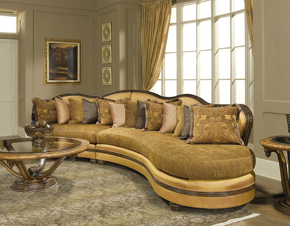 Sectional Sofa By Amazing Luxury Italian Sectional Sofa Ronaldo Traditional Furniture Idea Image On Furniture Pictures