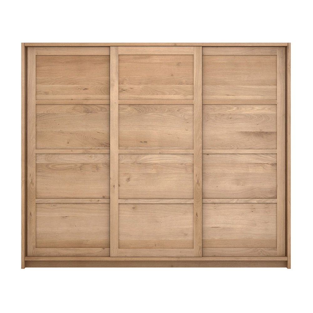If The Access To Your Bedroom Is Too Narrow This Collection Is Ideal The Kds Dresser Is Delivered As Flatpacked Furnitur Oak Furniture Sliding Doors Ethnicraft