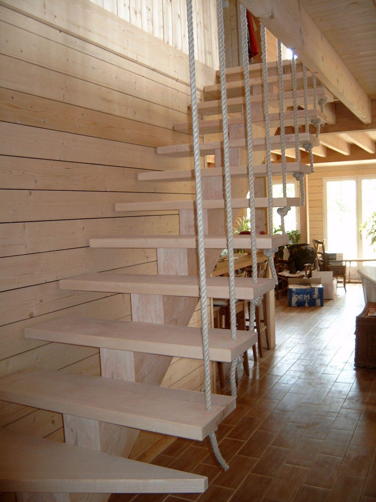 Main Courante Escalier Corde garde-corps en corde | rampe escalier, idées escalier, escalier