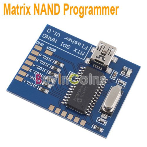 New Matrix NAND Programmer MTX SPI Flasher V1 0 For XBOX360