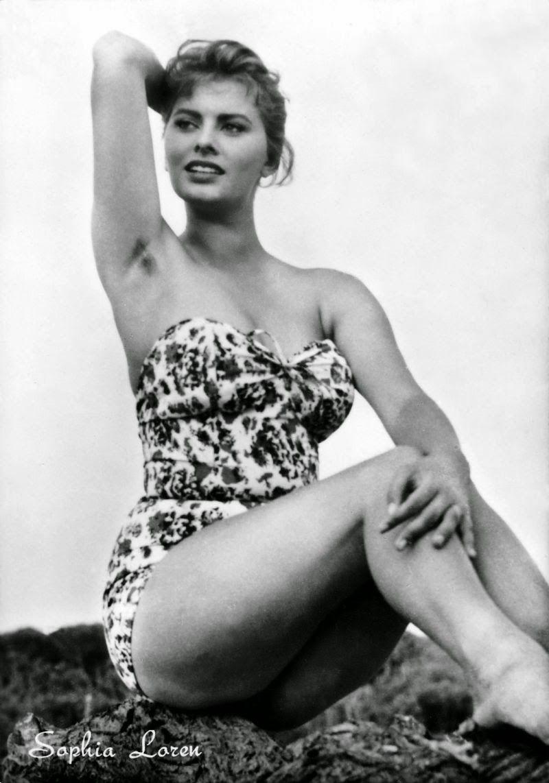 vintage armpits Film Noir Photos: Still More Labor Day Pits from Sophia Loren