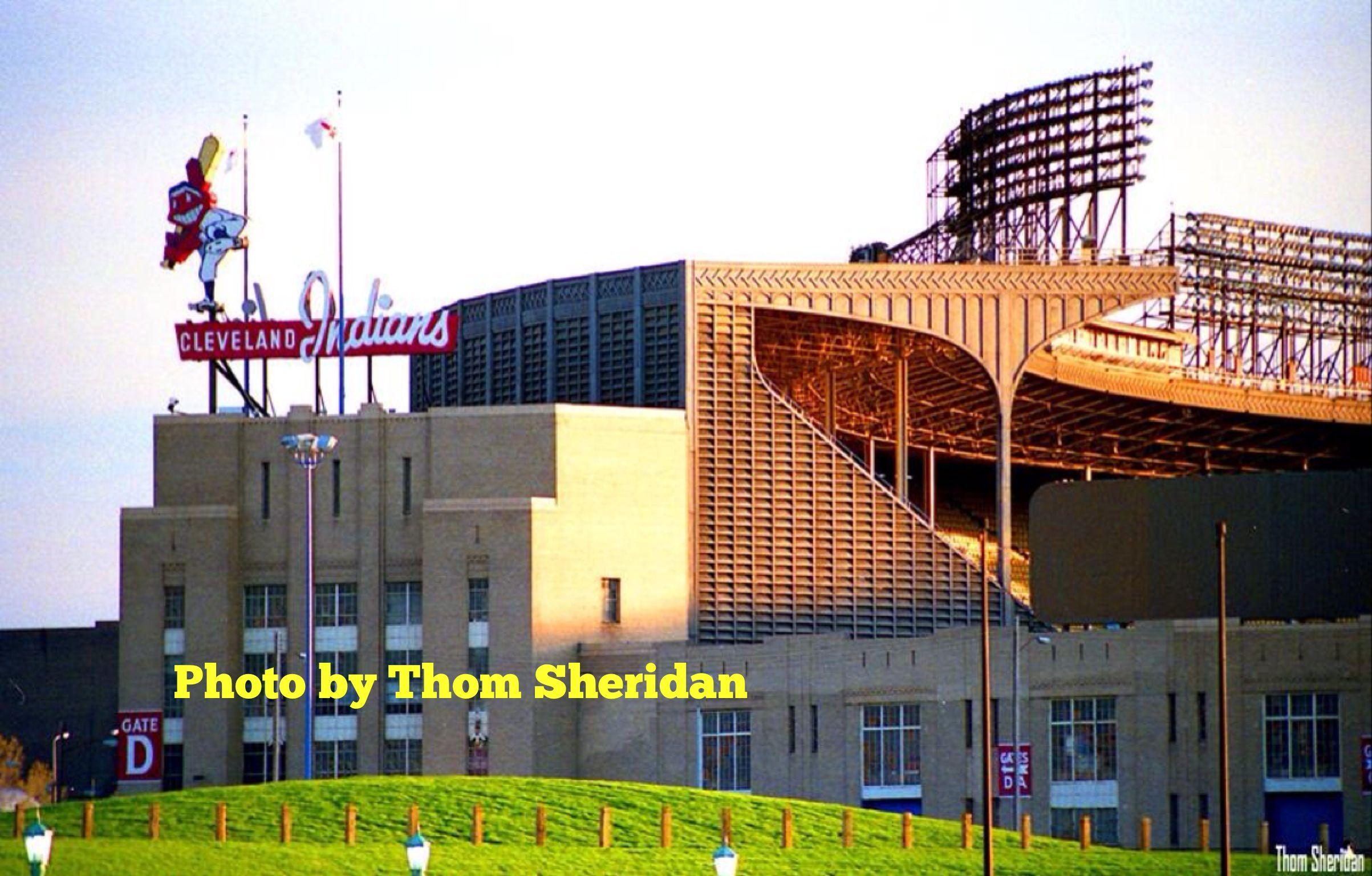 Cleveland municipal stadium the old stomping ground