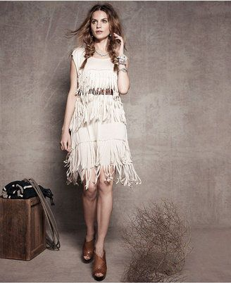 20s Style - Kensie Fringed Shift (Macy's, $49.99)