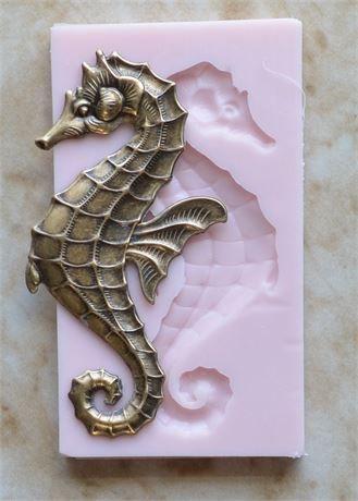 Seashell Sea Shell Silicone Cake Mould Chocolate Fondant Mold DIY RU