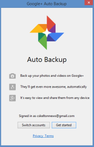 The Data Trail blog post - The free and easy way to backup (almost) all your computerfiles
