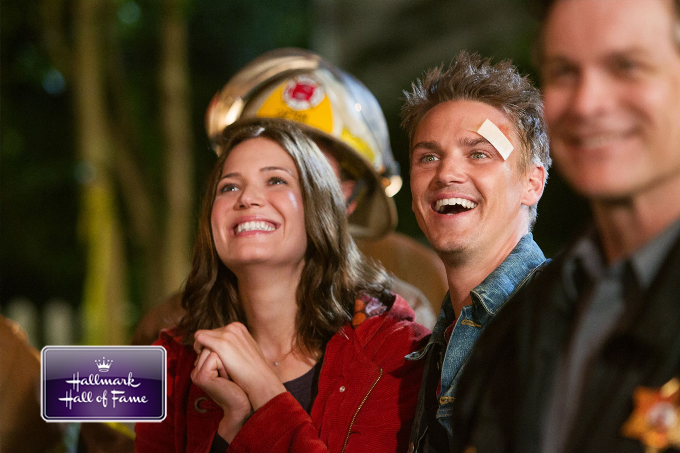 Riley Smith & Mandy Moore From The Movie Christmas In