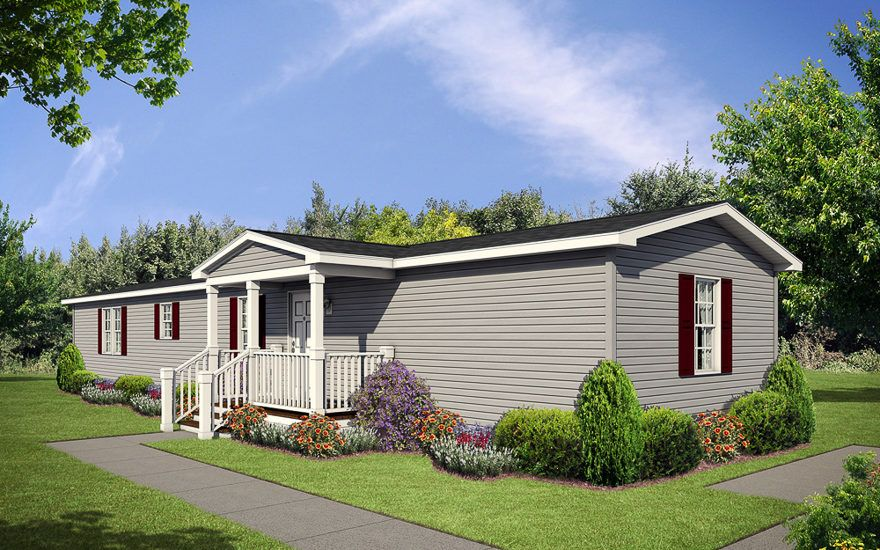 Anderson 16 X 68 1031 Sqft Mobile Home Our Topeka In Sales Center Delivers Finely Built Mobile Best Modular Homes Front Porch Design Modular Homes For Sale