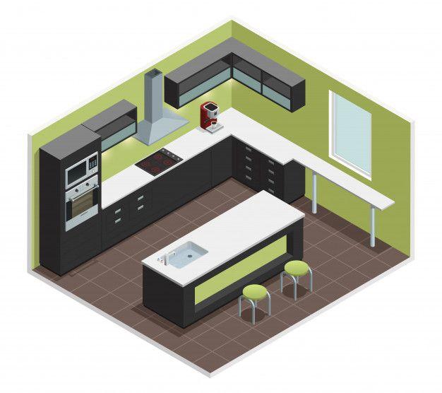 Modern Kitchen Interiors, Kitchen