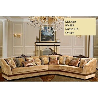 3 Pcs Formal Sectional Elegant From Our Traditional Living Room Furniture Furniture Upholstered Sectional