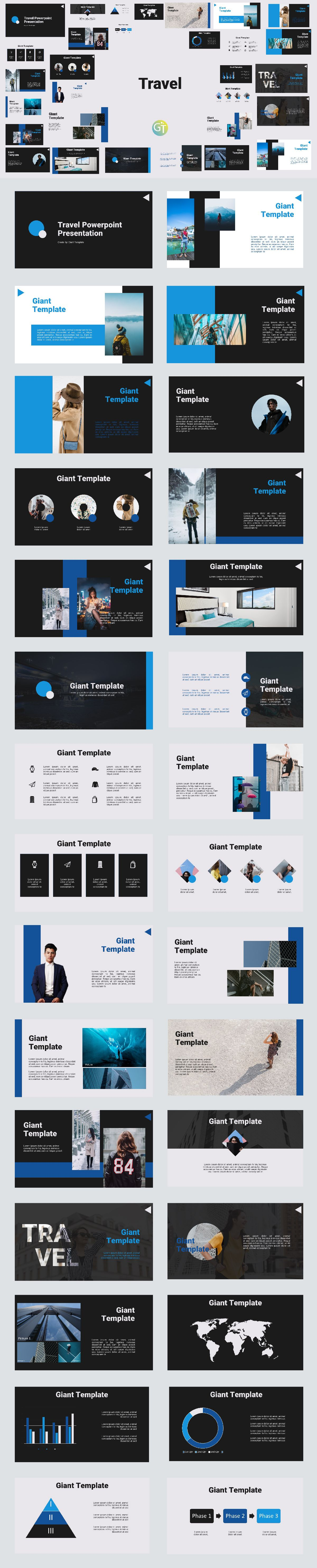 Travel Free Powerpoint Template In 2020 Free Powerpoint Templates Download Powerpoint Templates Powerpoint Template Free
