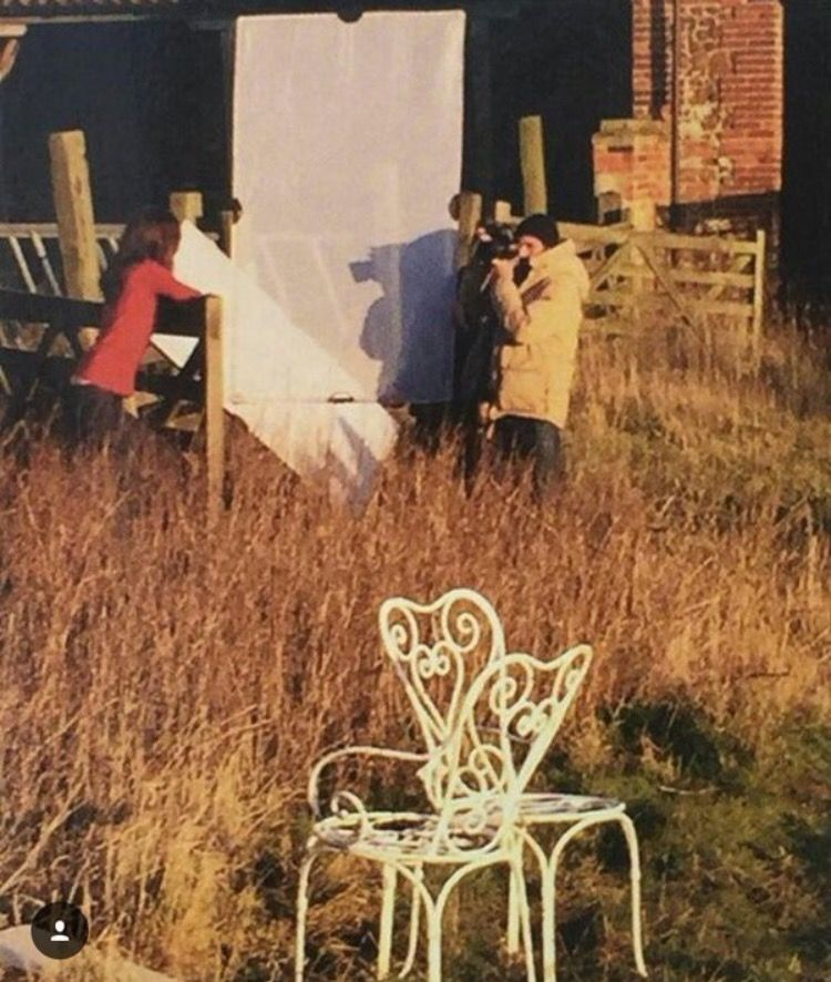 Behind the scenes at Kate's Vogue shoot