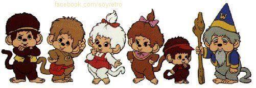 Los Monkikis Caricaturas Viejas Imagenes Animadas Fotos Y Recuerdos