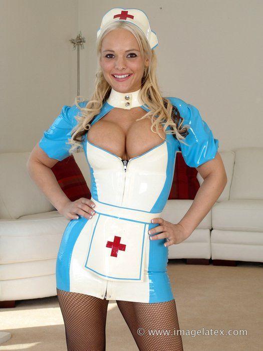 fantasy Sexy busty nurse