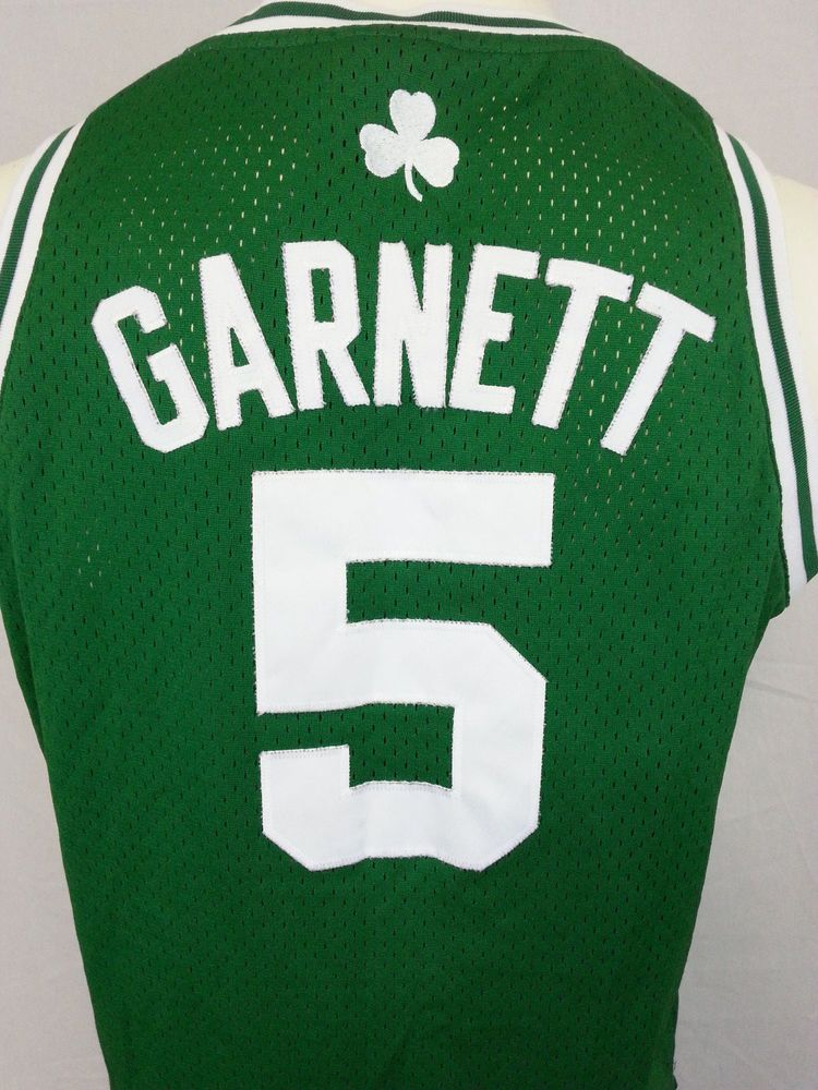 eaa14c15ca3 kevin garnett 5 boston celtics basketball green sewn nba adidas jersey  youth l adidas bostonceltics celtics
