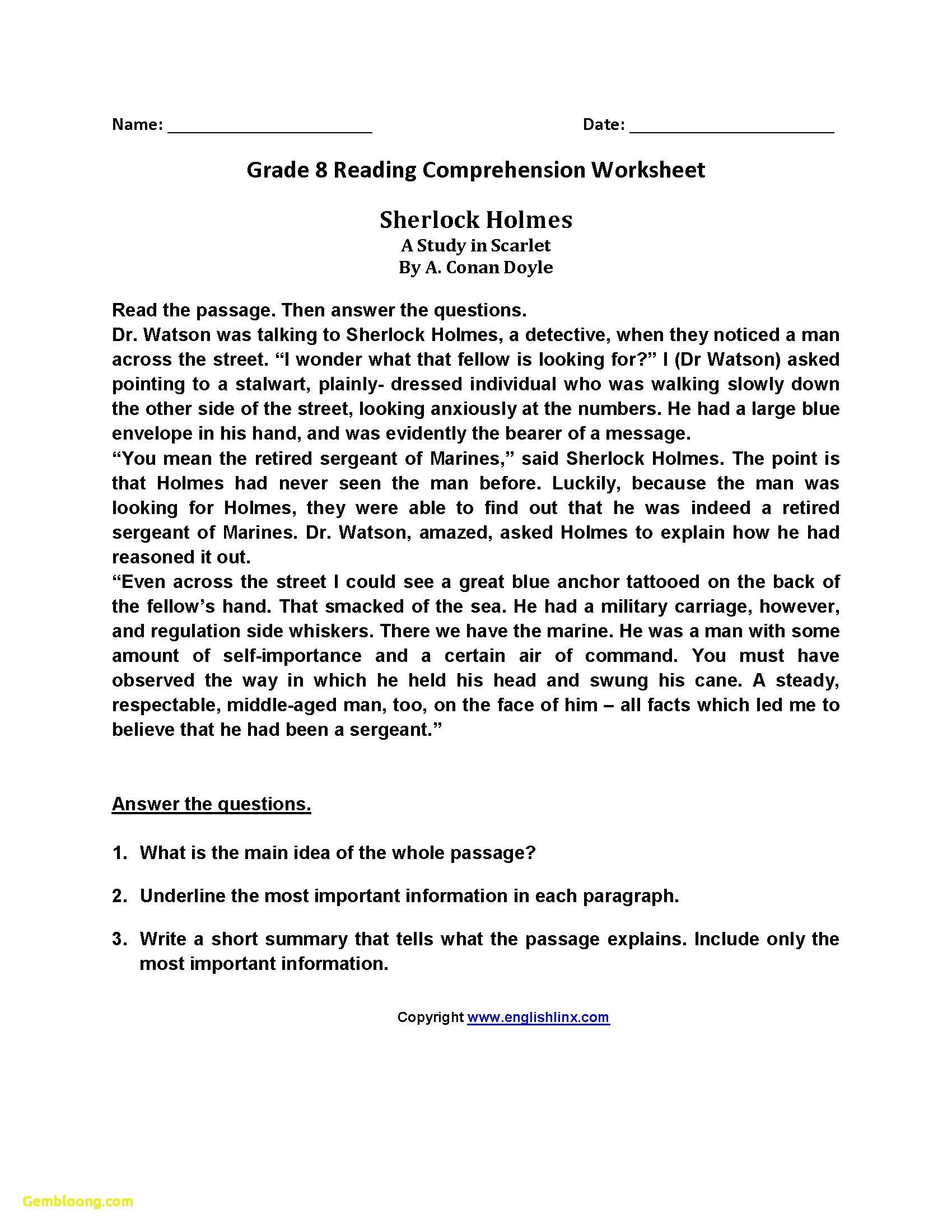 Functional Reading Activities Worksheets Worksheet