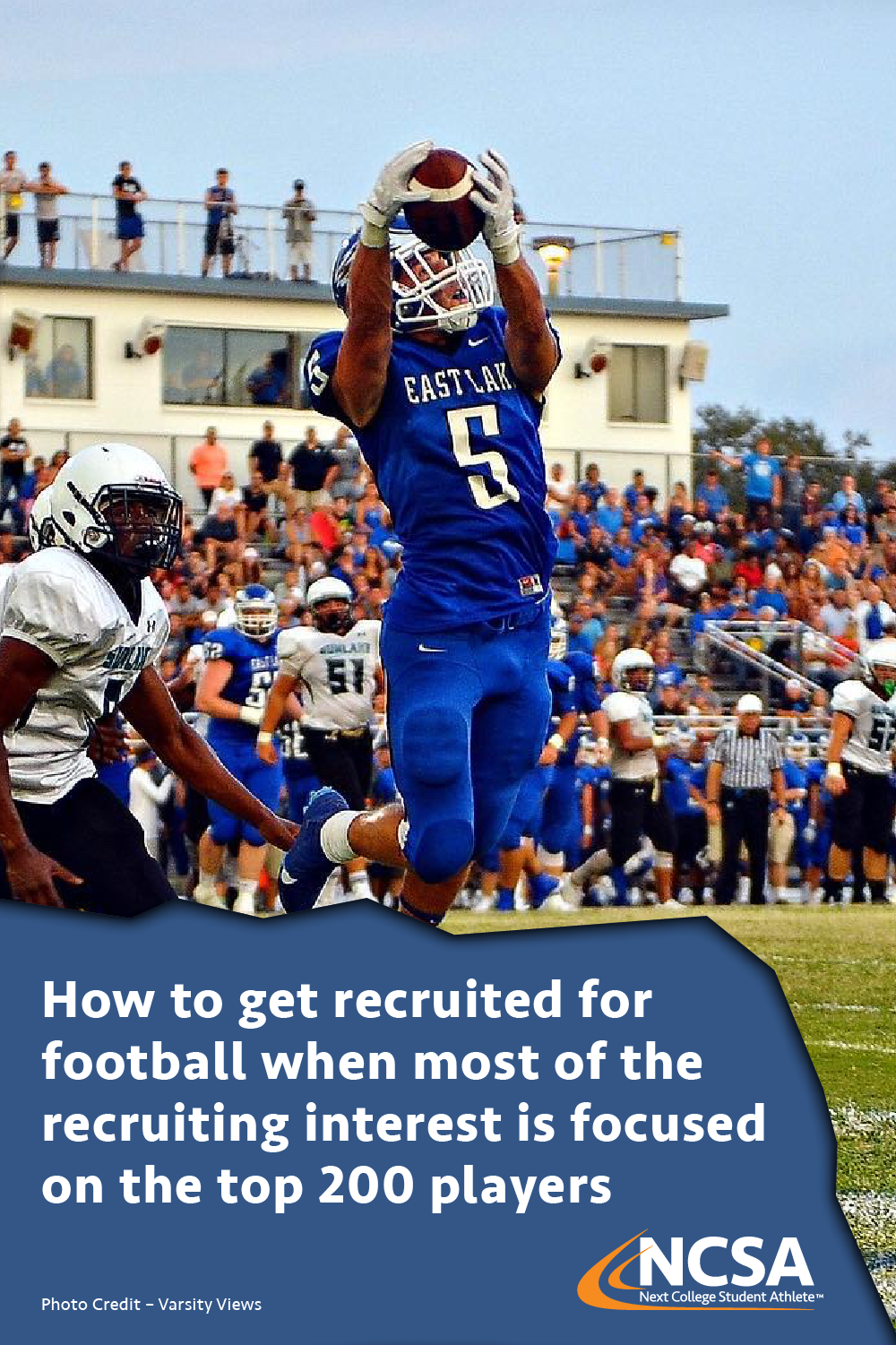 Playing college football is the dream of thousands of