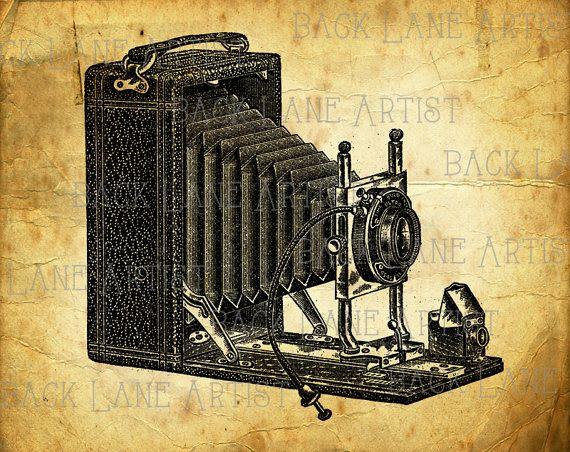 https://www.etsy.com/ru/listing/217443616/vintage-camera-clipart ...