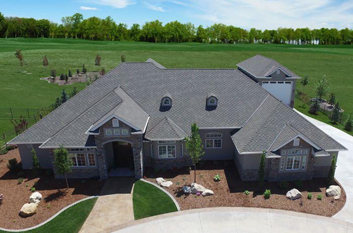 Best Windsor® – Weathered Wood Asphalt Roof Shingles Roof 640 x 480