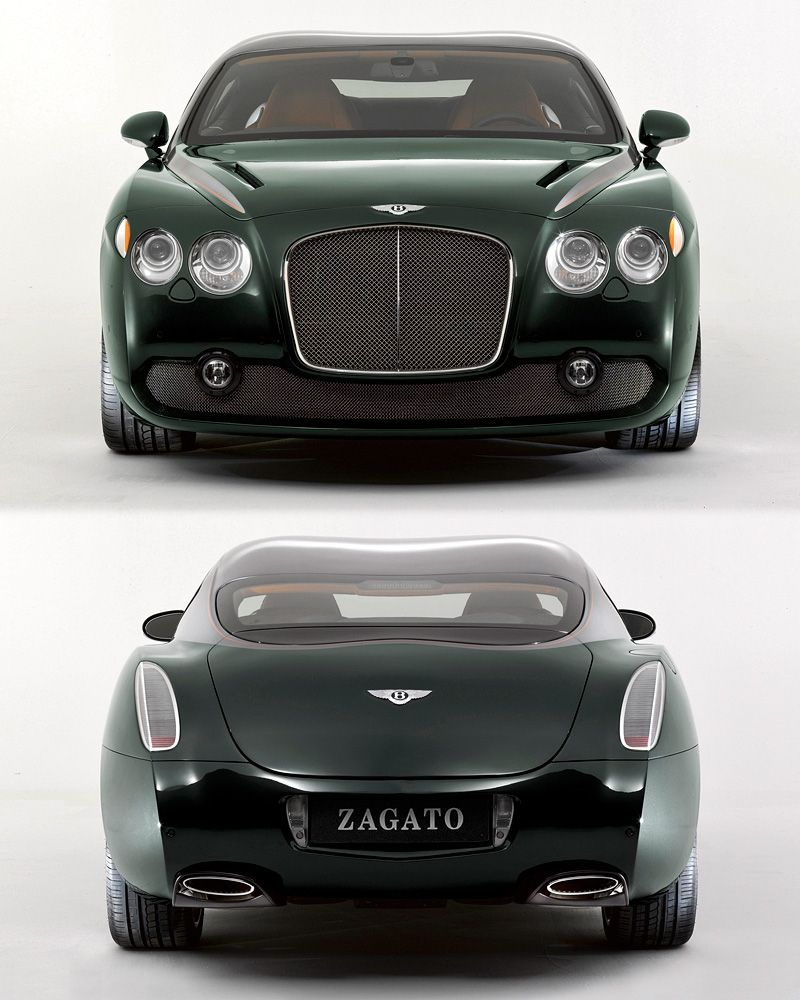 Bentley Continental GTZ Zagato $1,700,000