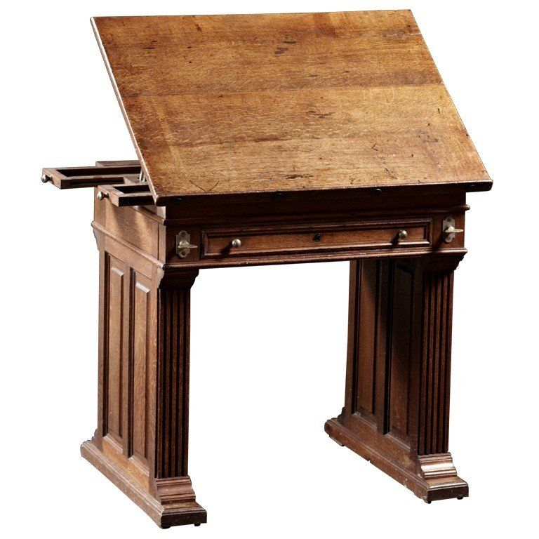 Drafting table with drawers ideas on foter with images