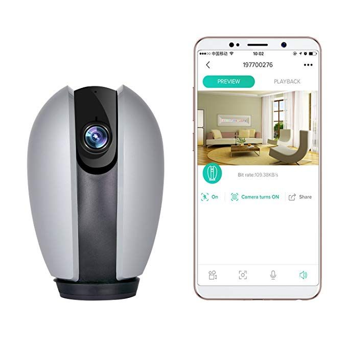 KZUXUN Home Security Camera 720P Wireless IP Camera with